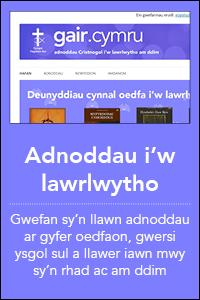 botymau homepage gwefanau